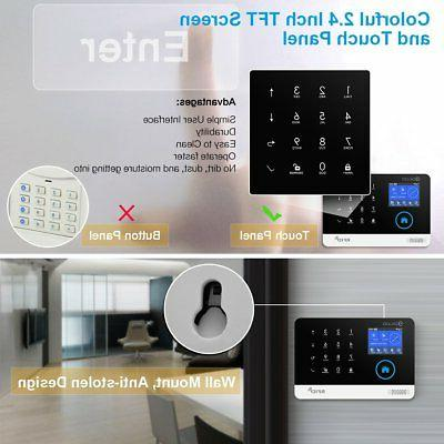 DIGOO 2G Home and Business Security Alarm System,