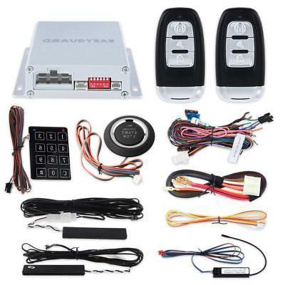 EASYGUARD EC002 Smart Key RFID PKE Car Alarm System Passive