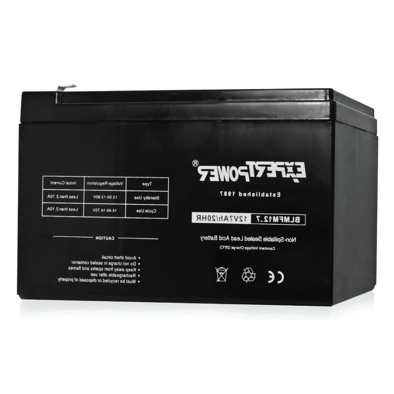 EXP 12V 7Ah Sealed Lead Acid  Battery for Universal ALARM CO
