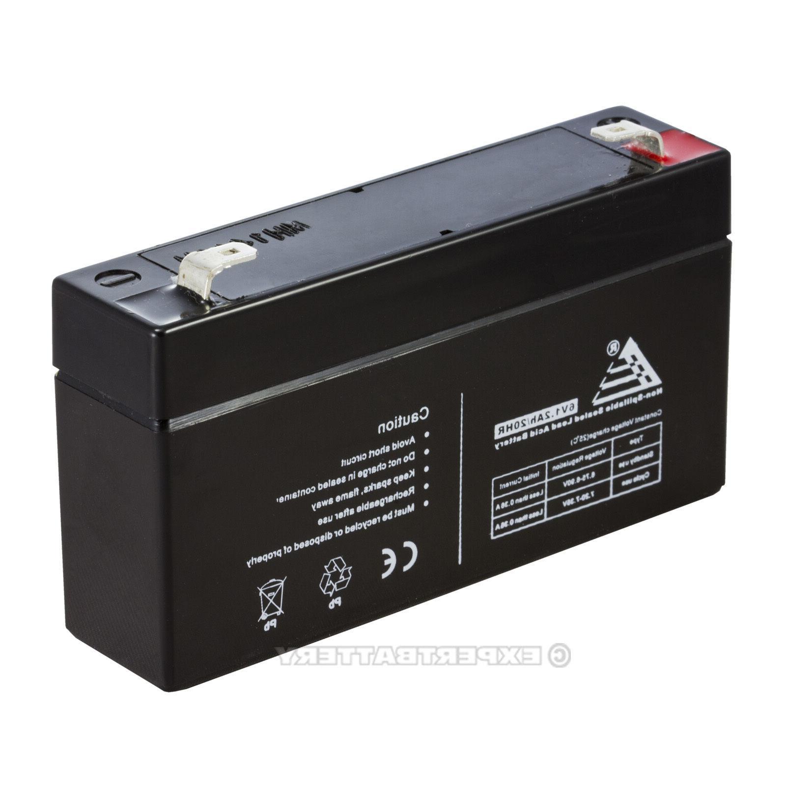 ExpertBattery Alarm Panel 6V 1.2Ah