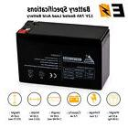 12V 7Ah Sealed Lead Acid  Battery for Universal ALARM CONTRO