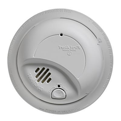 First Alert BRK 9120B6CP Hardwired Smoke Alarm with Backup B