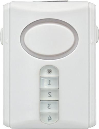 GE Kit, Includes Deluxe Alarm Keypad Activation and Window/Door Alarms, Installation, Home Protection, Burglar Magnetic Off/Chime/Alarm,