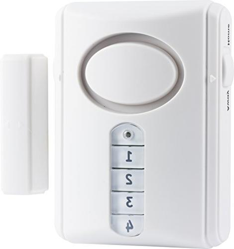 GE Security Alarm Kit, Includes Alarm and Burglar Off/Chime/Alarm,