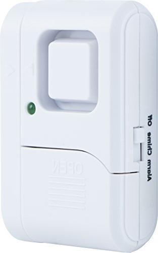 GE Kit, Deluxe Door Alarm with Keypad and Alarms, Installation, Burglar Off/Chime/Alarm,