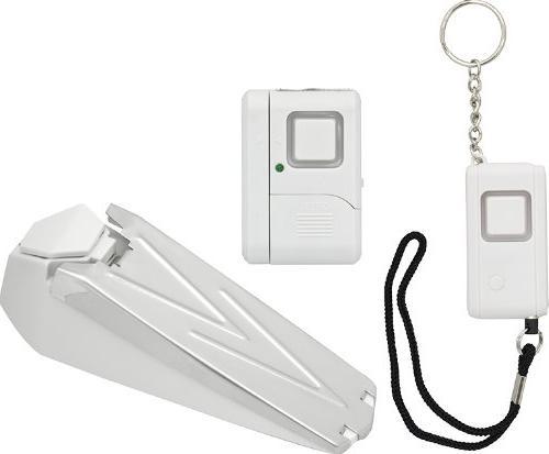 GE Personal Security Kit, Keychain/Doorstop/Window or Door A