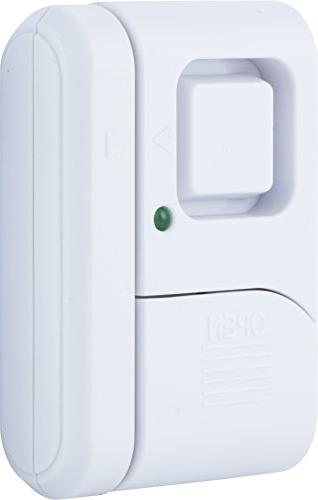 Alarm, 2-Pack, Protection, Burglar Alert, Alarm, Off/Chime/Alarm, Easy Ideal for Apartment, Dorm, RV