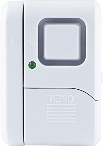 GE Security Window/Door Alarm, Protection, Alert, Wireless Alarm, Ideal for Garage, Apartment, RV Office, 45115