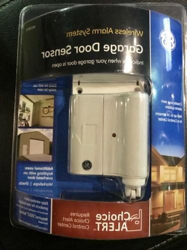 GE Wireless Alarm System Garage Door Sensor 45130 Choice Ale