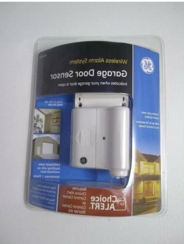 GE Wireless Alarm System Garage Door Sensor 45130 Requires C