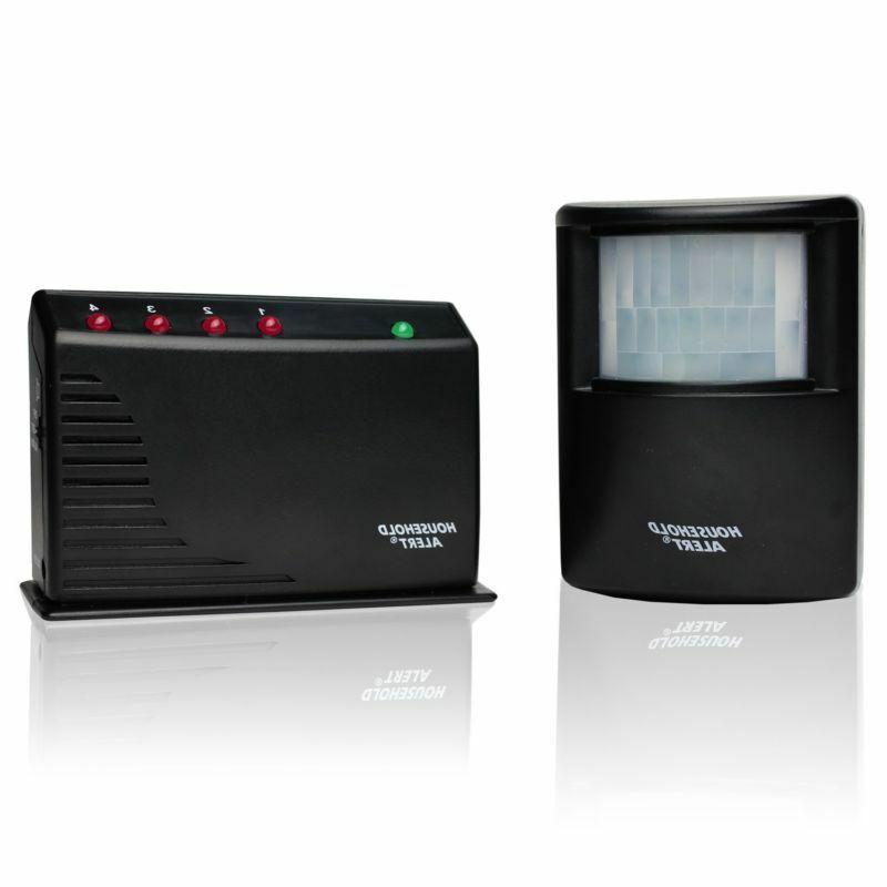 HA-434RTL Garage and Outdoor Infrared Detector System Kit