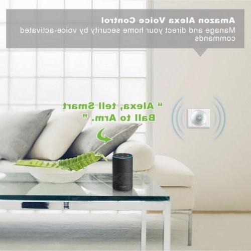 Home Security Alarm System Wi-Fi DIY Kit Burglar Door Alarm