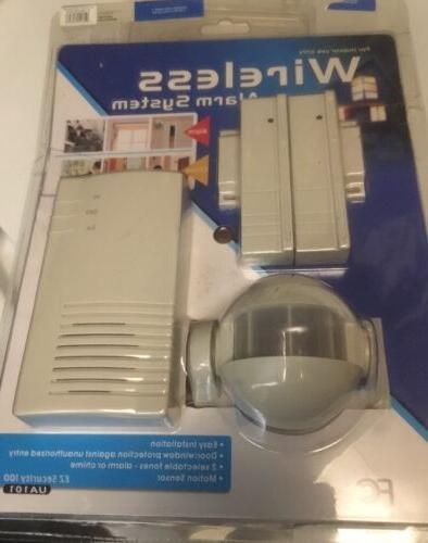 Indoor Wireless Alarm System EZ Security 100 Motion Sensor A