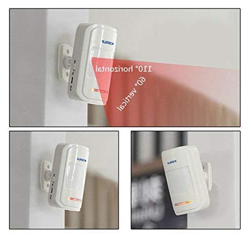 KERUI 433MHz Patrol Wireless Intelligent PIR Detector Alert Alarm be notified your surroundings