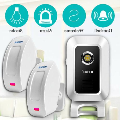 KERUI KR-M7 Wireless PIR Motion Sensor Welcome Chime Alarm E