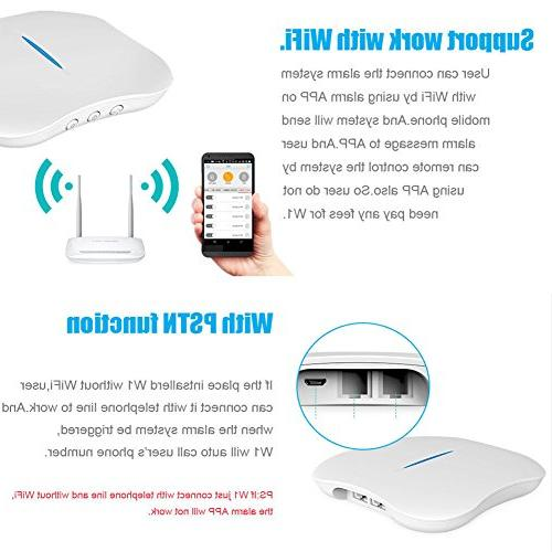 KERUI W1 2.4G WIFI Wireless System Dialer Kit Support Android APP + Wifi
