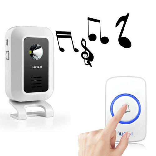 KERUI Wireless DoorBell Chime for Home/Office/Store,32 Melody