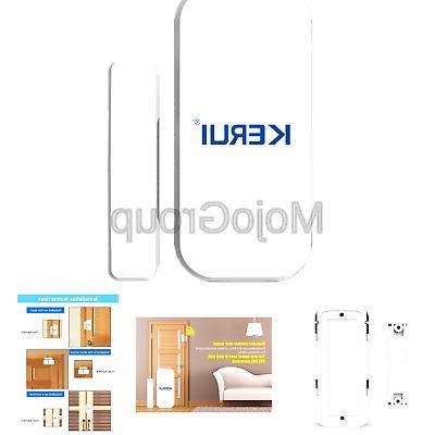 KERUI Wireless Home Windows Entry System - EASY to install FREE BATTIRES Sensor GSM Security Alarm