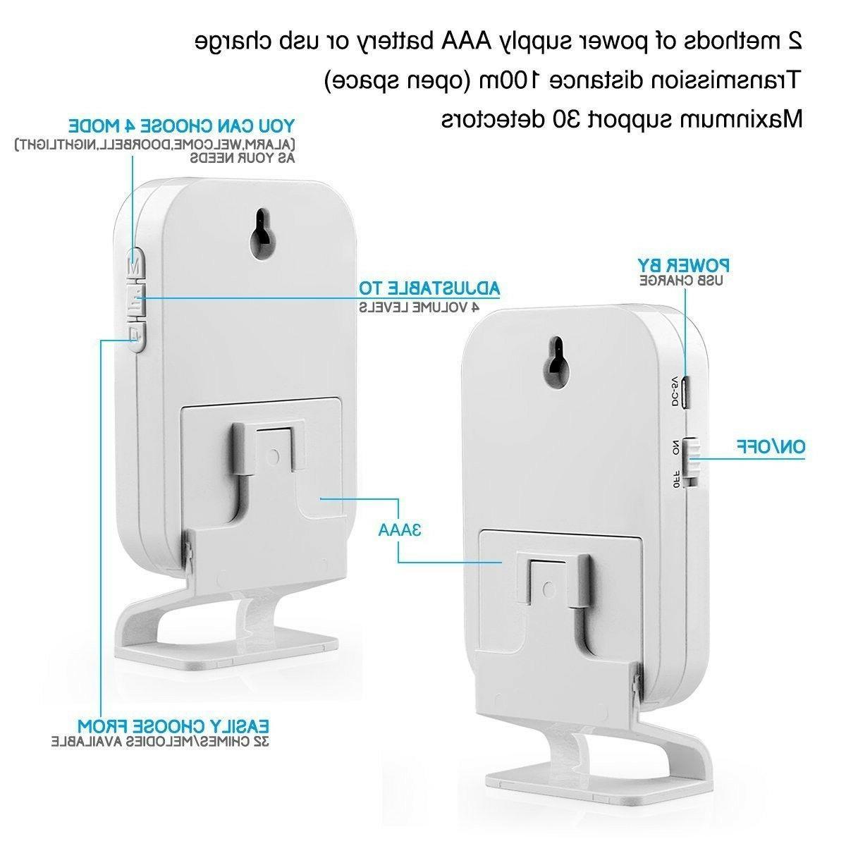 KERUI Motion Sensor Alarm System Door Bell