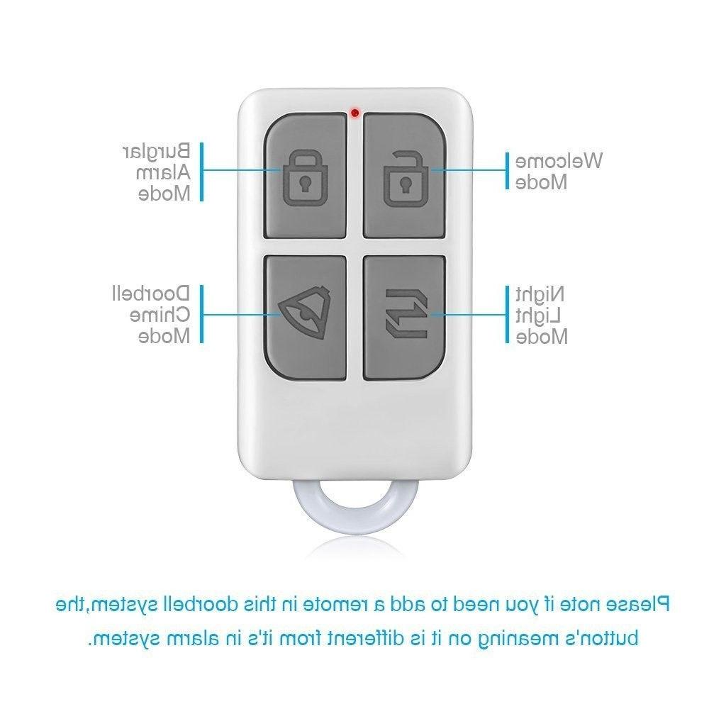 KERUI Split Motion Sensor Alert System Doorbell