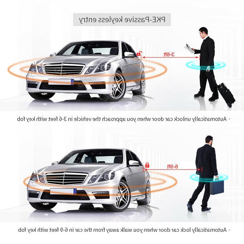 EASYGUARD smart key car start keyless go entry