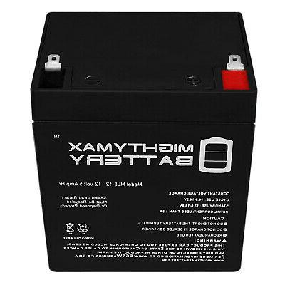 Mighty 12V SLA Battery DSC Alarm Systems