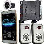 Mobile phone Car Alarms & Security Systems remote start and