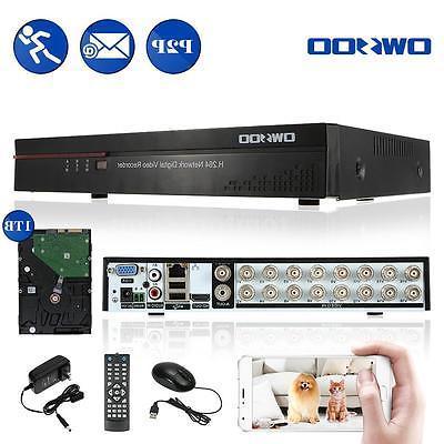 OWSOO 16CH CIF HD DVR RECORDER SYSTEM US