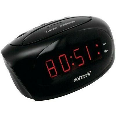 Personal Alarm System Really Loud Clock Bedroom Westclox Noi