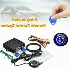 RFID Car Alarm System With Push Button Start Lock Ignition K