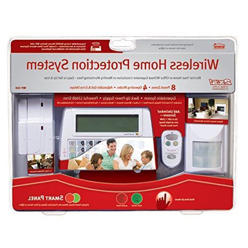 SABRE Burglar Alarm - Motion and Window Touch Screen Remote Control - DIY