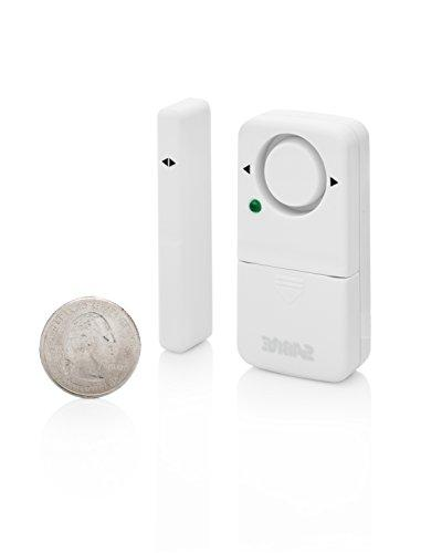 SABRE Home Alarm Kit dB Install – Window Door Alarm w/Entry Exit Delay Home Mode Setting Max While at