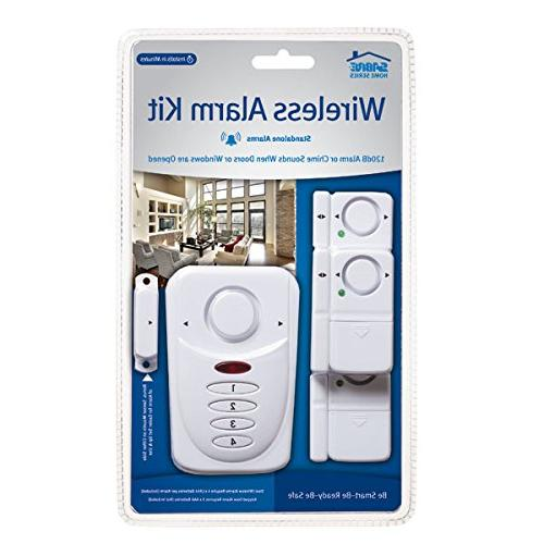 SABRE Kit dB – Install 3 Pack Window Door Alarm w/Entry Exit Home Max Safety at Home