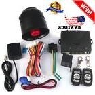 Universal Car Alarm vibration alarm Keyless Entry Security S
