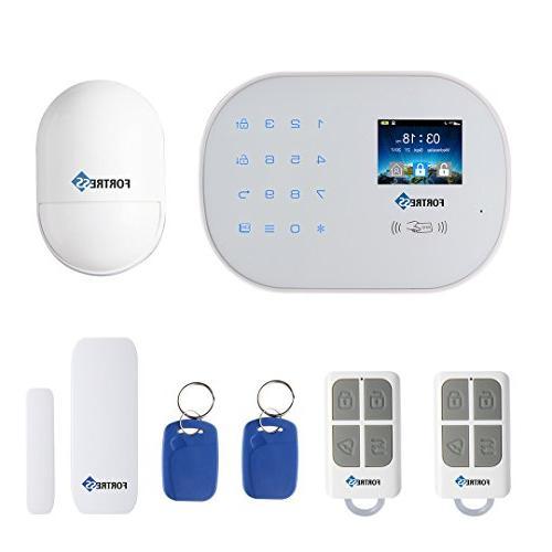 Wi Fi 3g 4g Gsm Security Alarm System S6 Tit
