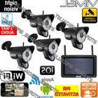 Wireless Home Security Cameras Alarm System IP WIFI Night Vi