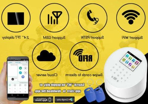 A15 APP GSM Home Alarm System+IP Camera