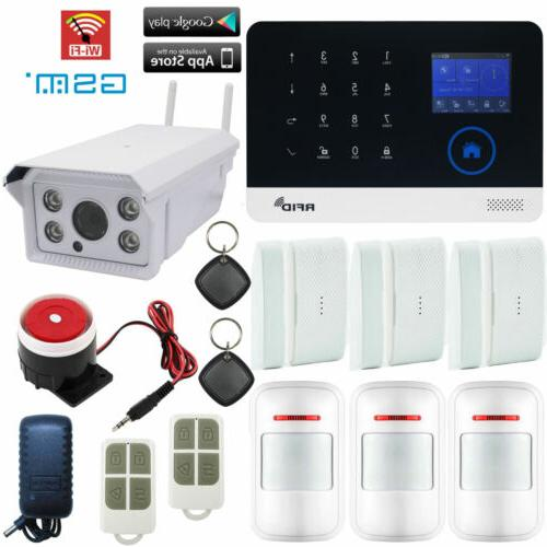 V17 WiFi GSM APP RFID GPRS Wireless Home Security Alarm Syst