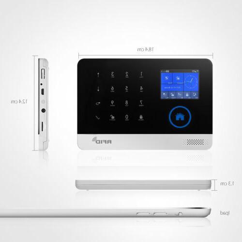 RFID Security Alarm System+Outdoor IP Camera