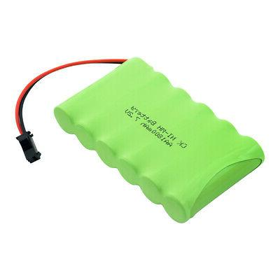 AA RECHARGEABLE NI-MH BATTERY PACK PLUG FOR TOY ALARM