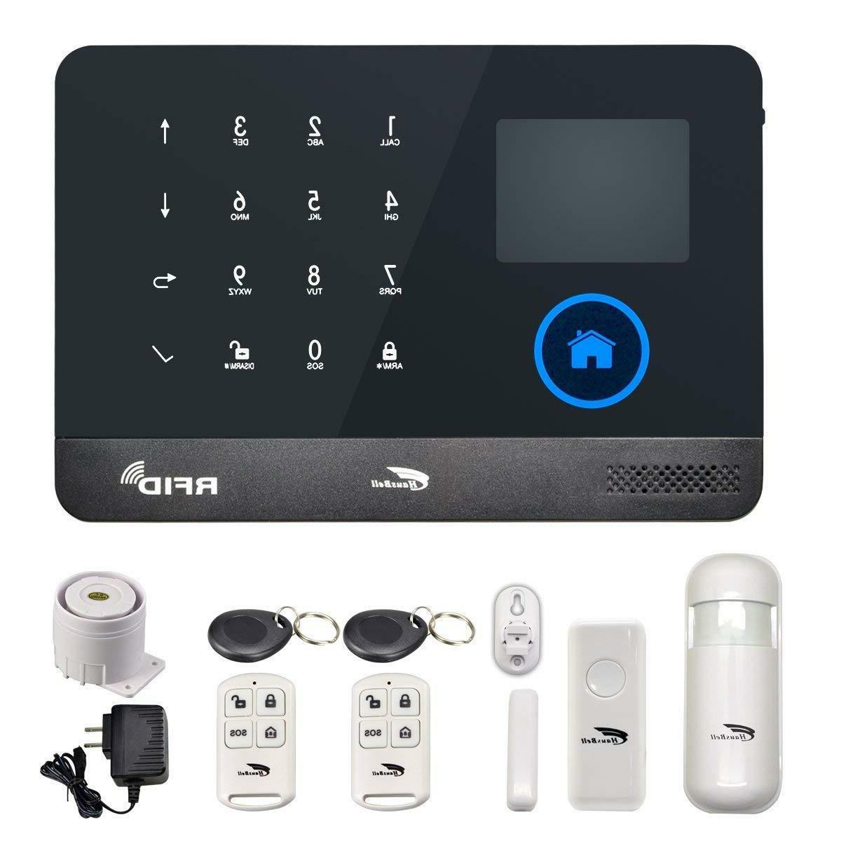 alarm home security system 3g and wifi