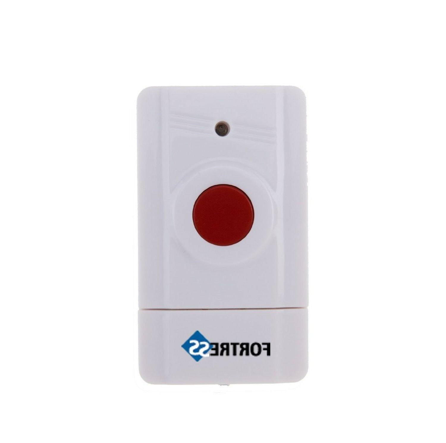 Fortress Security Alarm System Override Panic Button S02 GSM