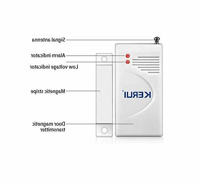 Remote Wireless Motion Burglar Outdoor