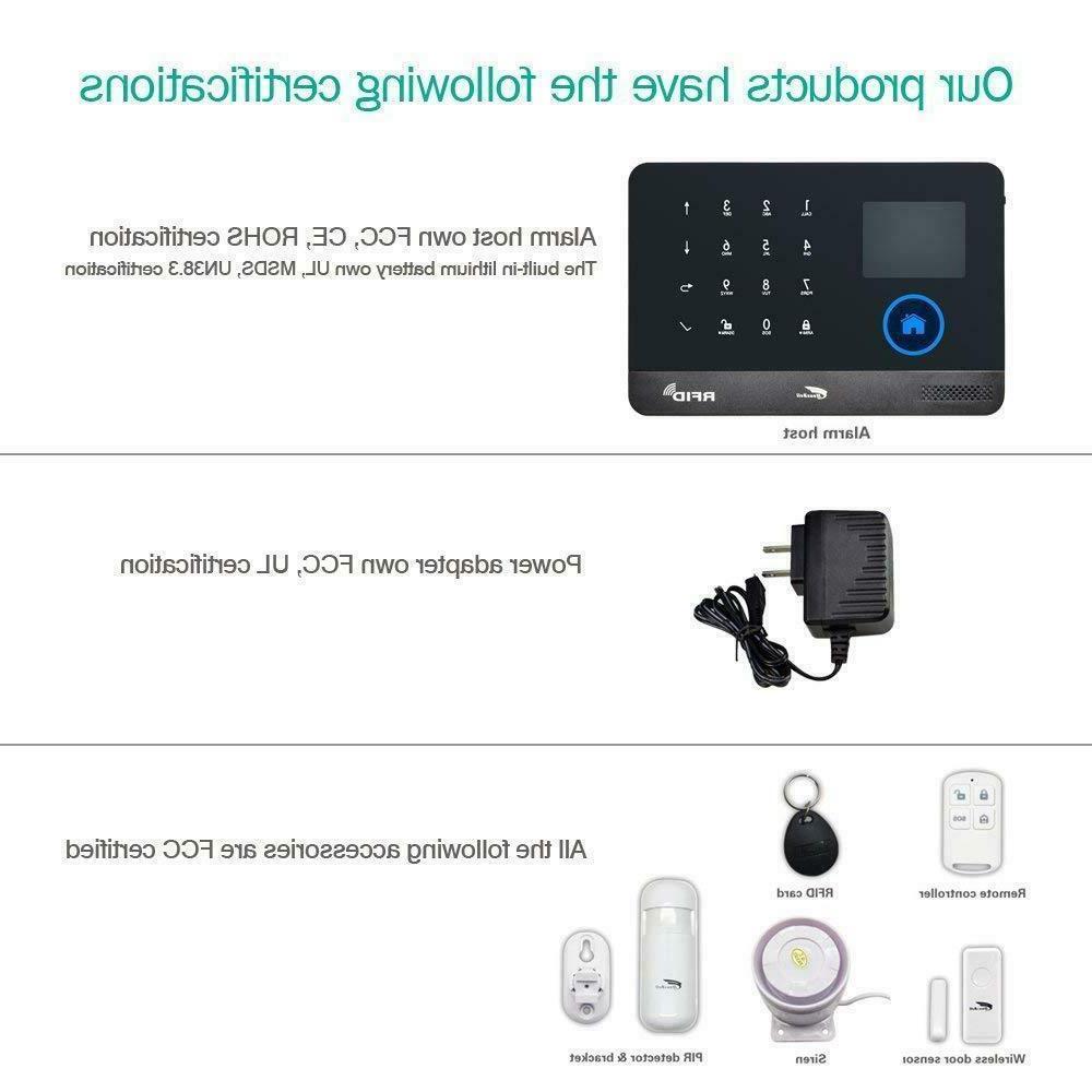 Alarm System & WIFI Wireless Alarm