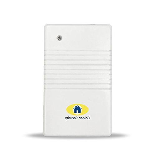 alarm system signal repeater range