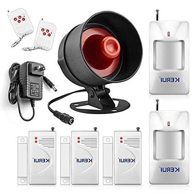alarm system siren security wireless motion sensor