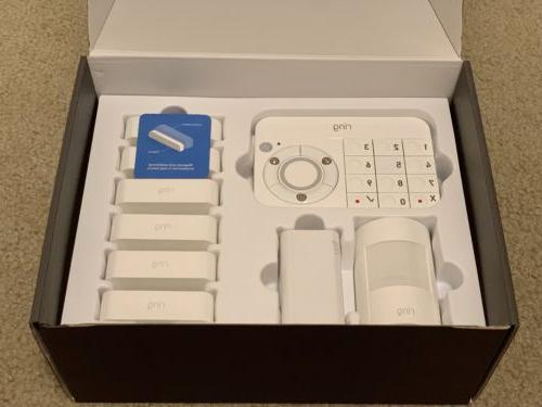 piece Security system long pro instal
