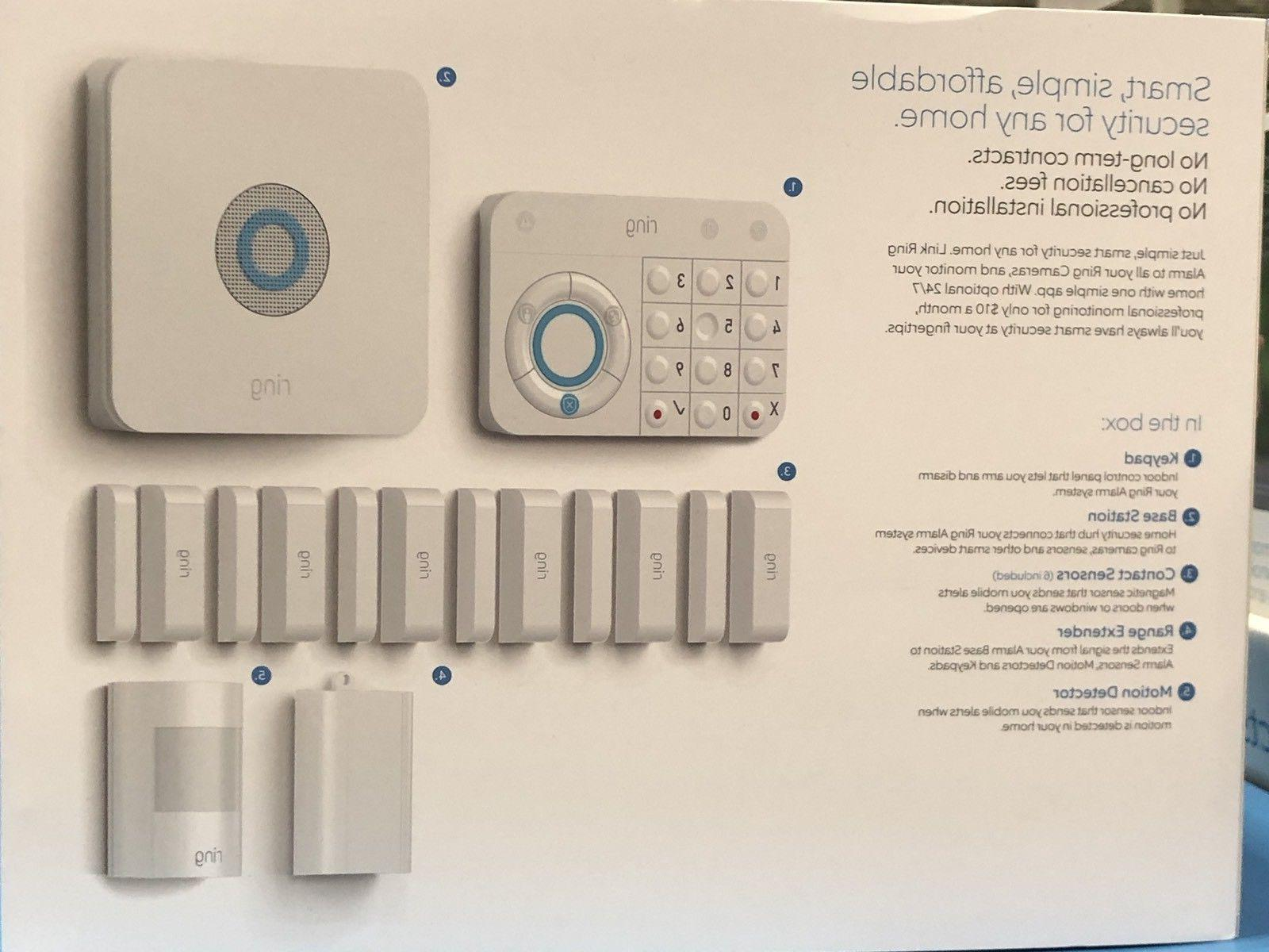 Ring Alarm Wireless piece long term contract pro instal