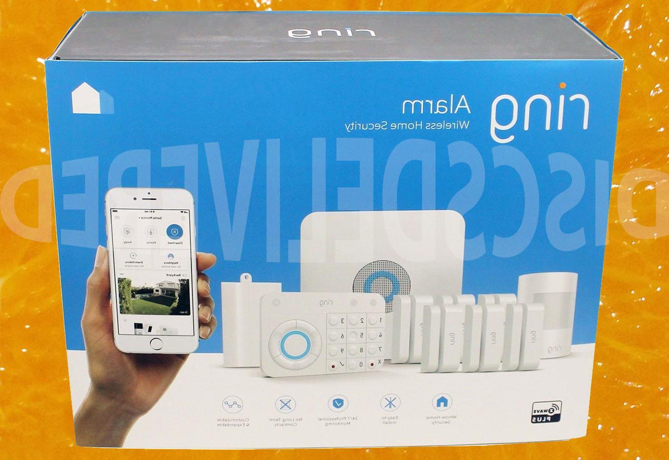 alarm wireless 10 piece security system no
