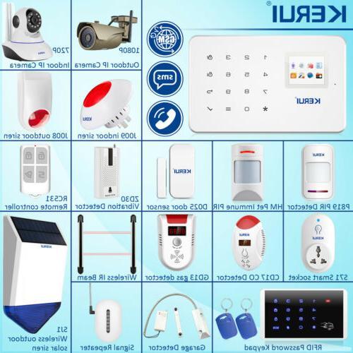 KERUI All Alarm Accessories W2 Alarm Lot